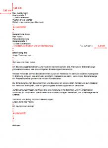 Bewerbungsschreiben DIN 5008 Muster