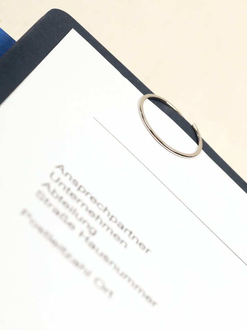 Blickfang Für Die Bewerbungsmappe Besondere Büroklammern