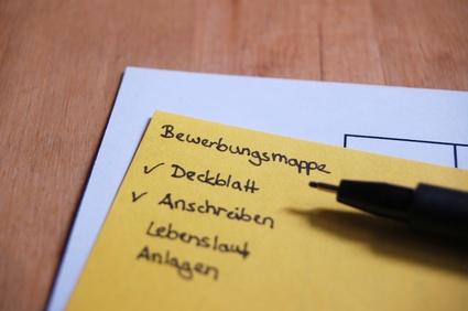 Bewerbungsmappe Reihenfolge Der Unterlagen Bewerbungswissennet