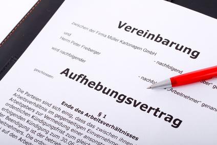 aufhebungsvertrag schnell die stelle wechseln - Kundigung Aufhebungsvertrag Muster
