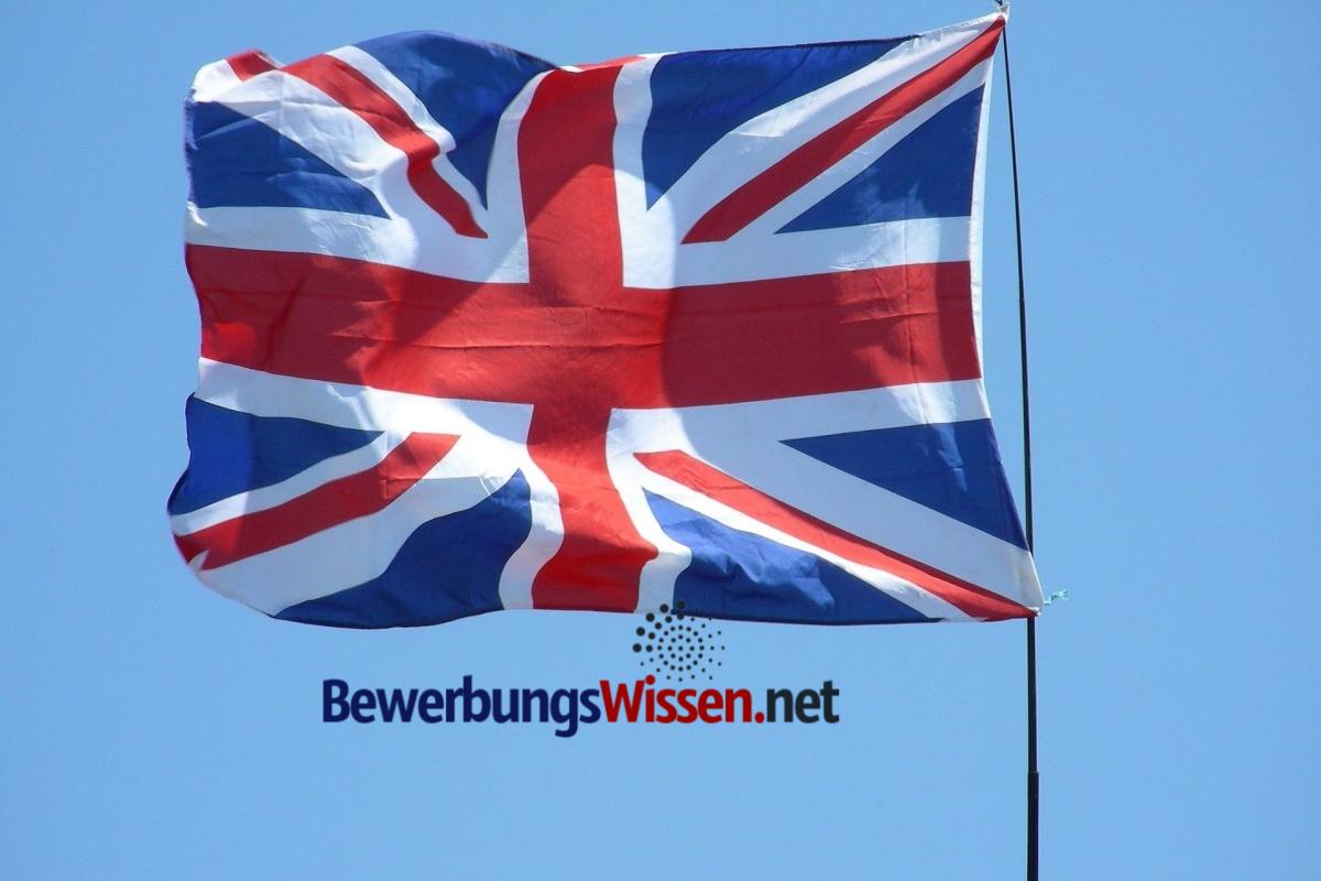 Britischer Cover Letter